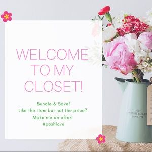 Welcome to my closet! 🌼🌸